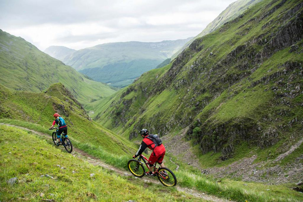 Inspirational Mountain Bike Holidays In Scotland Ride The Uk S